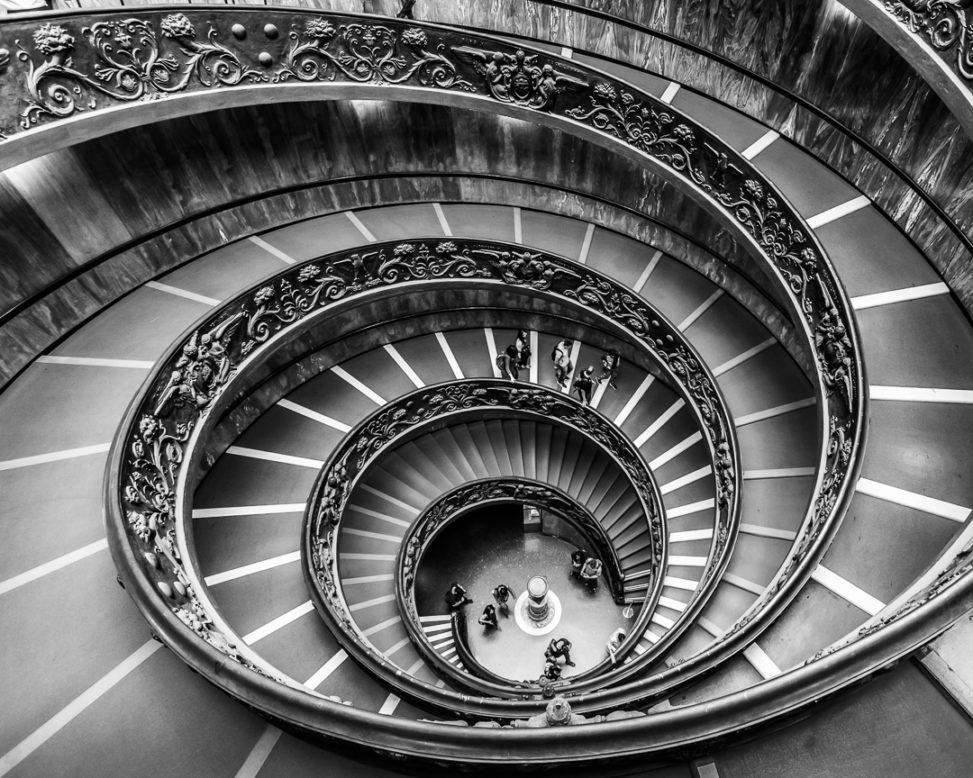 scala elicoidale musei vaticani