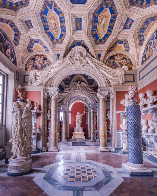 Galleria delle statue e dei busti, Musei Vaticani
