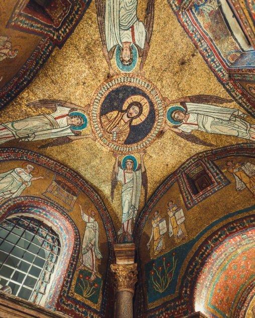 Cappella di San Zenone, Roma - mosaici
