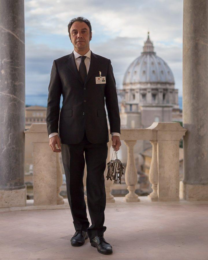 Gianni Crea, il clavigero dei musei vaticani