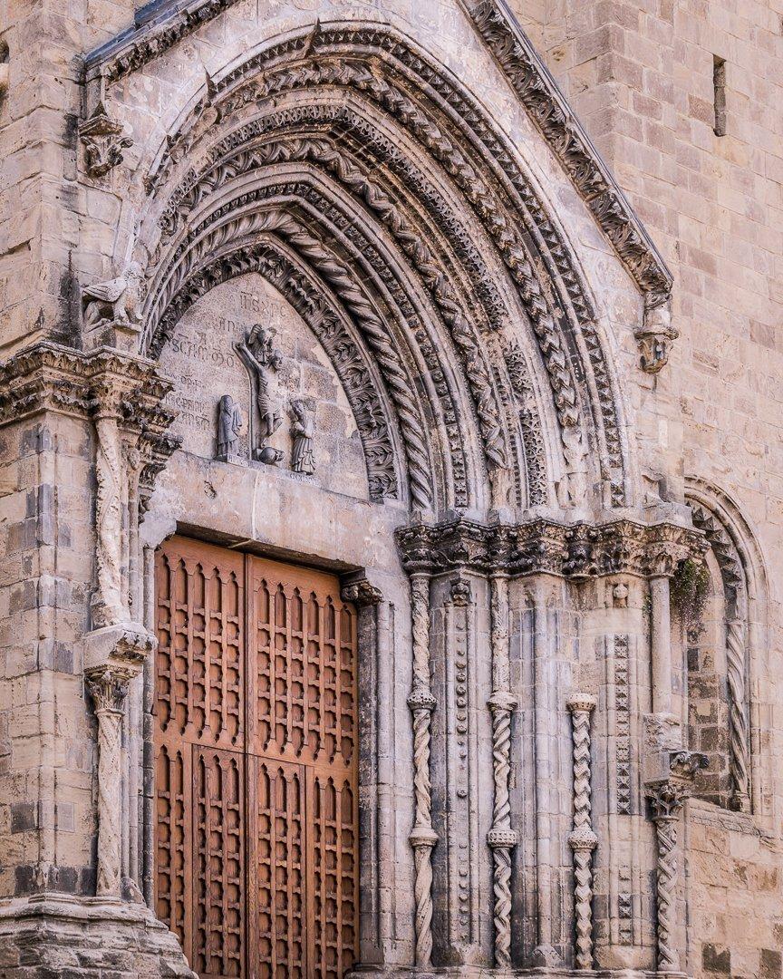 Portale Santa Maria Maggiore a Lanciano