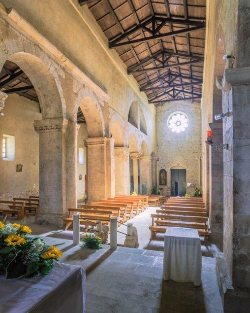 San Tommaso Becket, Caramanico, navata centrale