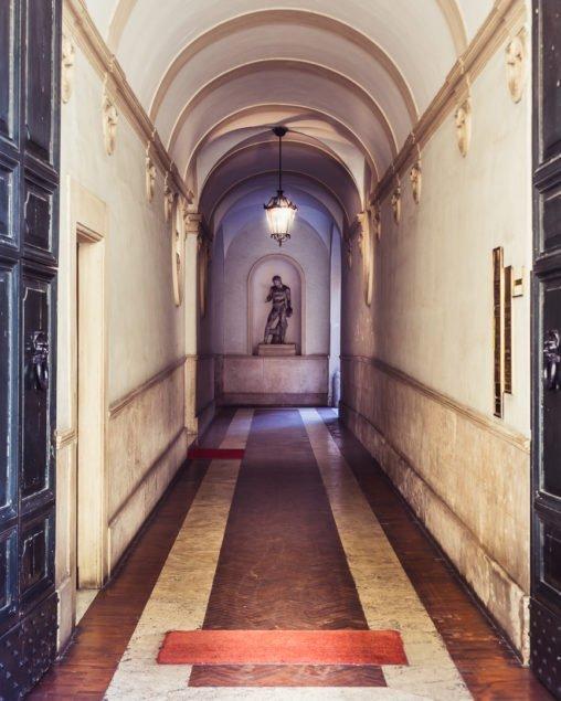 Scorcio di Roma in via di Ripetta