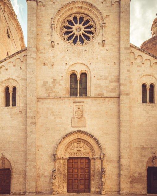 Facciata della Cattedrale di Bitetto